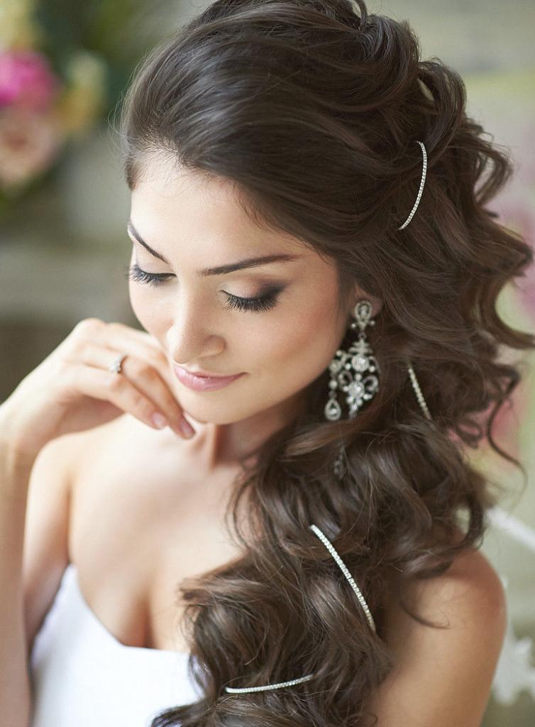 08-754x1024 Завиток к завитку - свадебная прическа для длинных волос