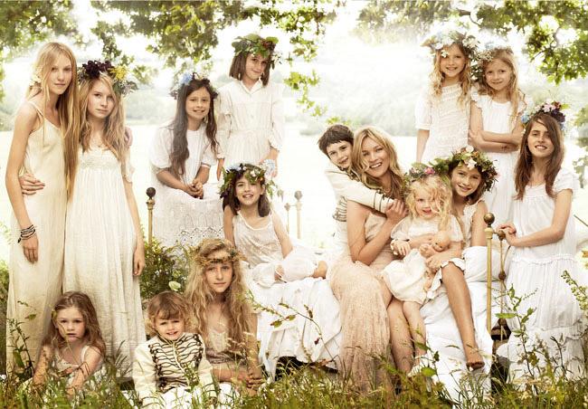 KejtMoss1 Cупер свадьба Кейт Мосс в стиле чисто английского романтизма.