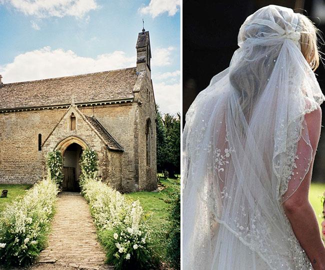 KejtMoss2 Cупер свадьба Кейт Мосс в стиле чисто английского романтизма.