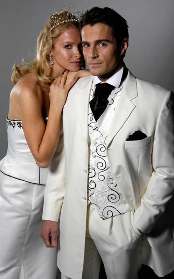 kostyum1 Мужчина «с иголочки» - как выбрать костюм для жениха - правила выбора мужского костюма для свадьбы