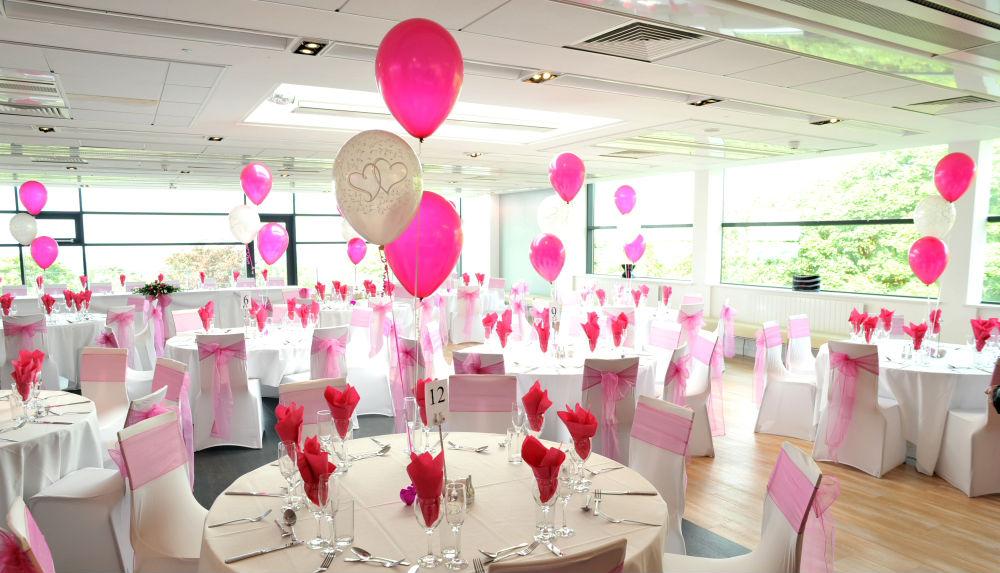 Воздушная свадьба – украшение шарами