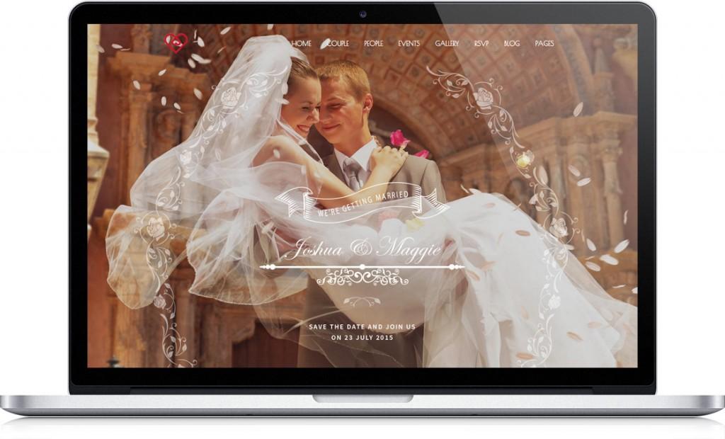 variant-dizajna-svadebnogo-sajta-Roza-1024x620 Нужно ли делать свадебный сайт?