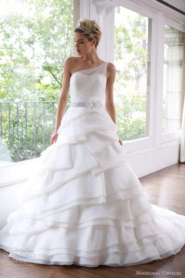 Moonlight-Couture-2013-1 Все коллекции свадебных платьев