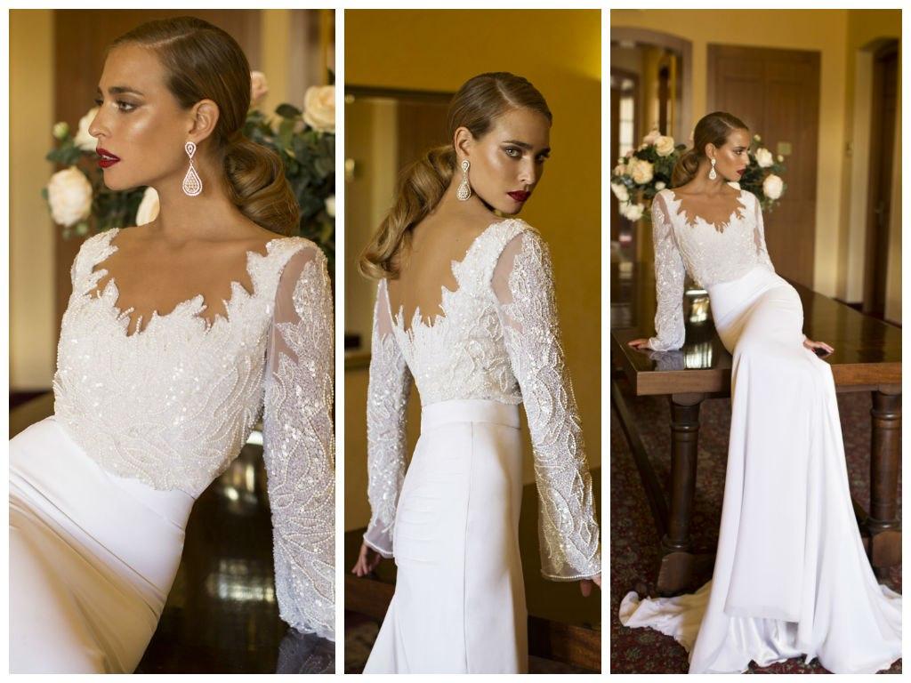 Свадебные платья дизайнера  Nurit Hen