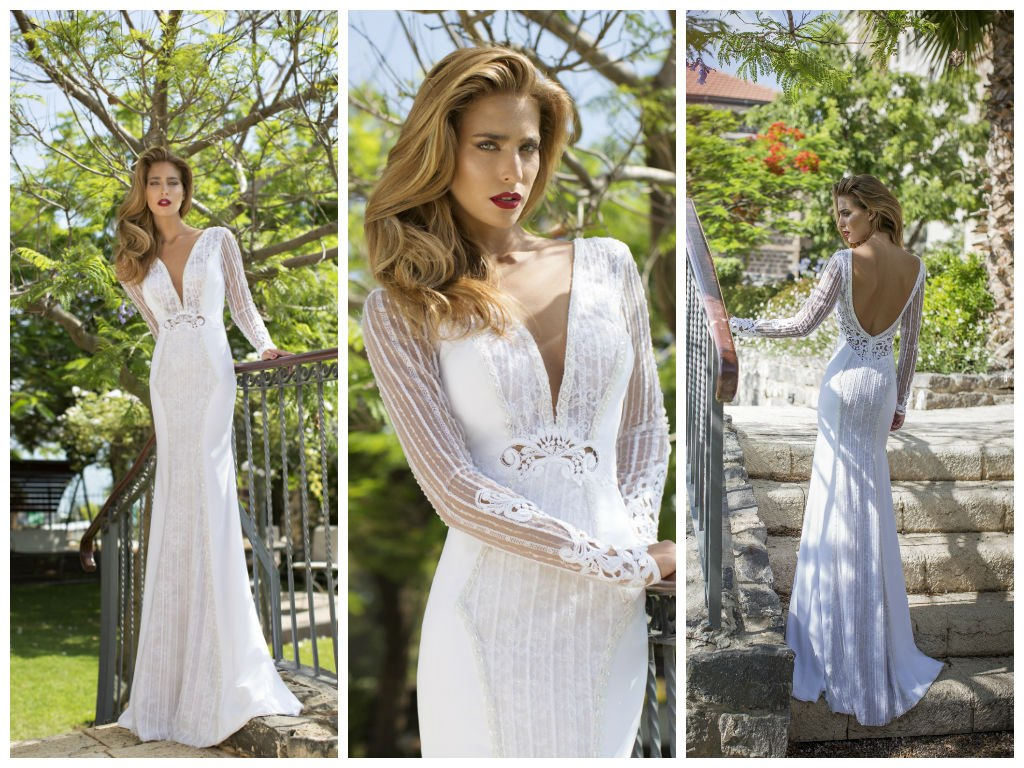 c2c5c2b23bd Свадебные платья дизайнера Nurit Hen из рубрики Свадебные платья от ...