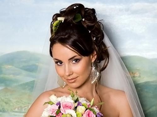 Sozdanie_prazdnichnogo_obraza Какую свадебную прическу выбрать для брюнетки?