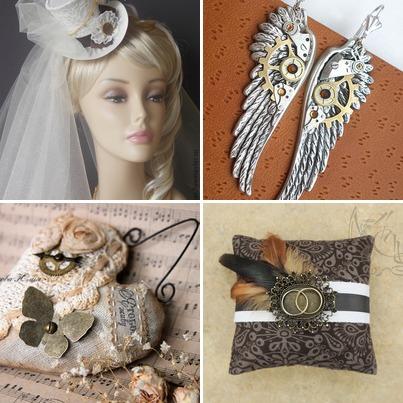 aksessuary-dlya-nevesty-stimpank Корсет для свадьбы в стиле стимпанк