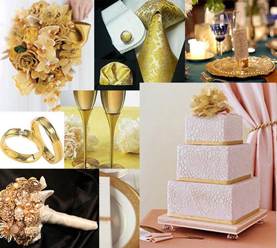 """Свадьба в стиле """"Золото"""""""