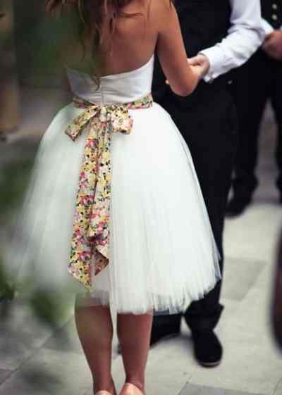 Фотоподборка. Банты в оформлении свадьбы