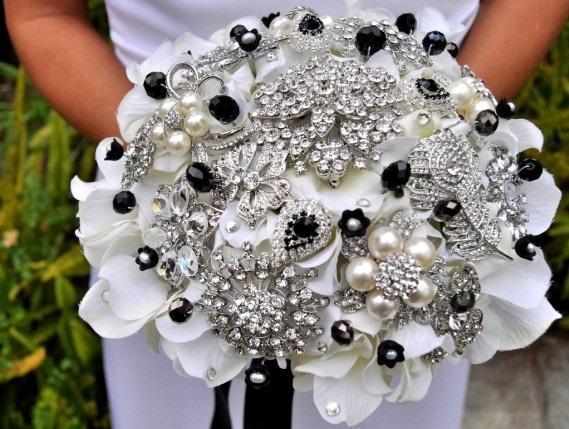 buket-CHB Свадьба в черно-белом стиле