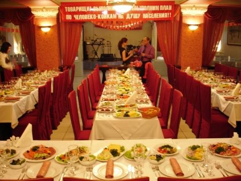 dekor-zala-sssr Свадьба в стиле СССР