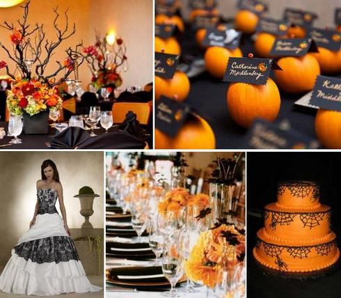 """Свадьба в стиле """"Хэллоуин"""": основные идеи для оформления такой свадьбы"""
