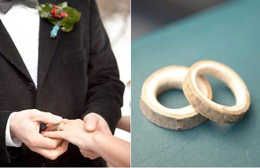 eko-koltsa Свадьба в эко стиле