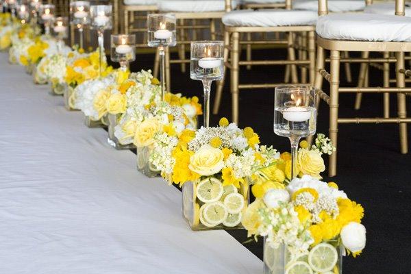 Фруктовый свадебный декор