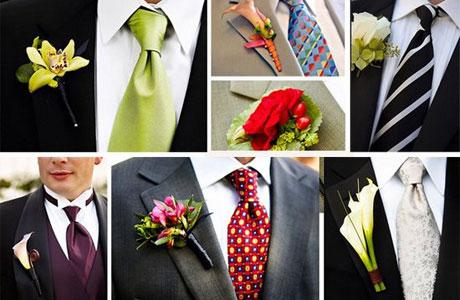 galstuk-svadba_2 Галстук, бабочка или шейный платок. Что выбрать жениху?