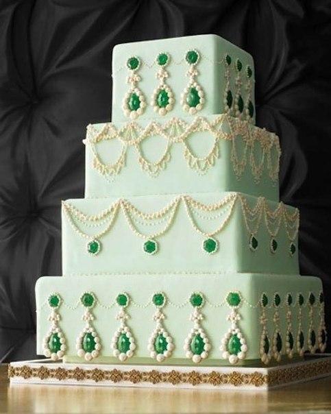 izumrudnyj-tort «Ювелирные» свадебные торты идеальный вариант для роскошной свадьбы