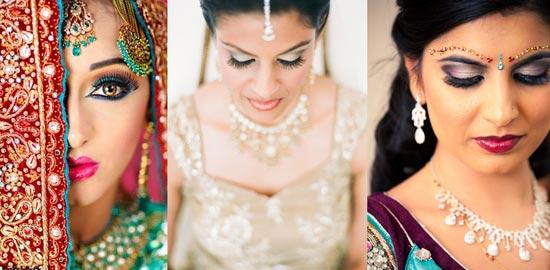 kak-sdelat-indiiskii-makiyaz-na-svadnu Свадьба в индийском стиле