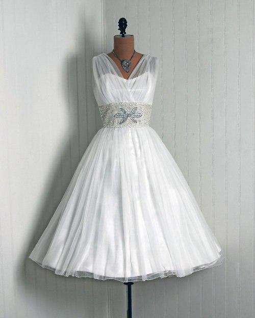 koktejlnoe-plate-5 Свадебные платья в стиле 1950 года