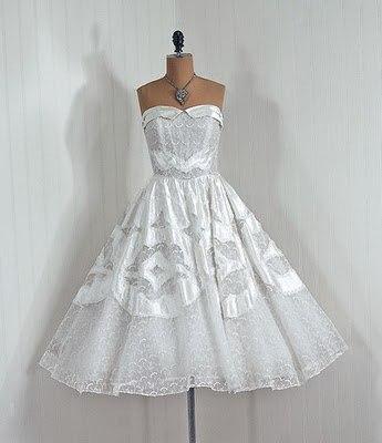koktejlnoe-plate-7 Свадебные платья в стиле 1950 года