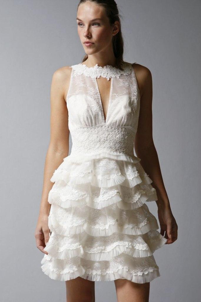 Коллекция коротких свадебных платьев от St.Pucchi