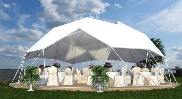 kruglyj-shater Свадебные шатры - элемент декора выездной свадьбы на природе