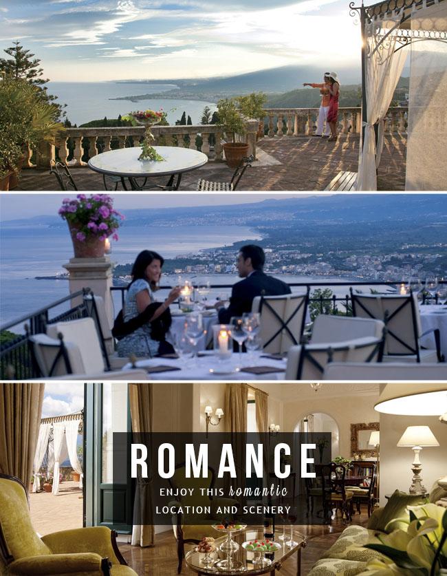 Медовый месяц в Grand Hotel Timeo в Таормине, Италия