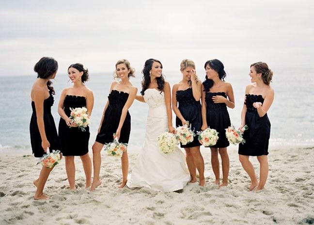 nevesta-chernobelyj-stil Свадьба в черно-белом стиле