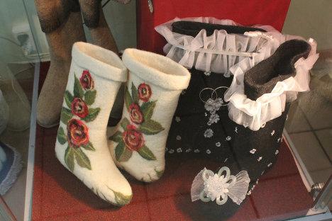 parnye-valenki Свадебные валенки - обувь для зимней свадьбы