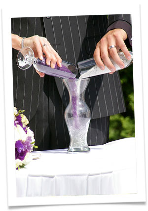 Песочная церемония – необычный свадебный обряд