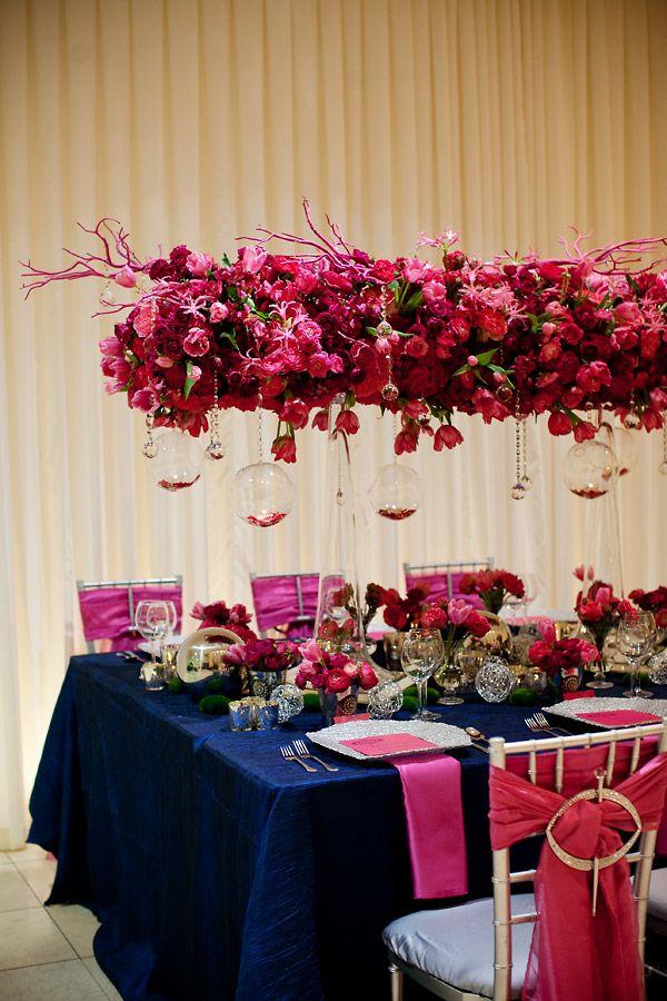 Фотоподборка. Подвесные композиции в декоре свадьбы