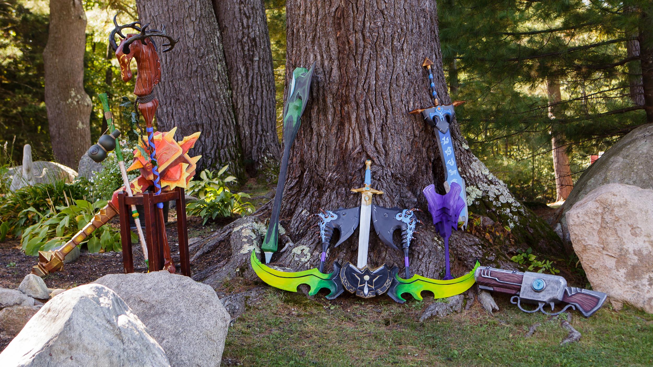 Свадьба в стиле игры World of Warcraft