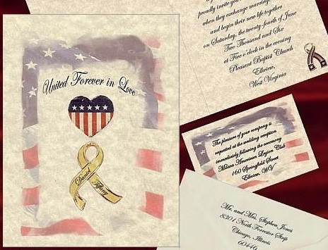 "priglasheniya-amerika Свадьба в стиле ""Американский флаг"": несколдько идей и советов"