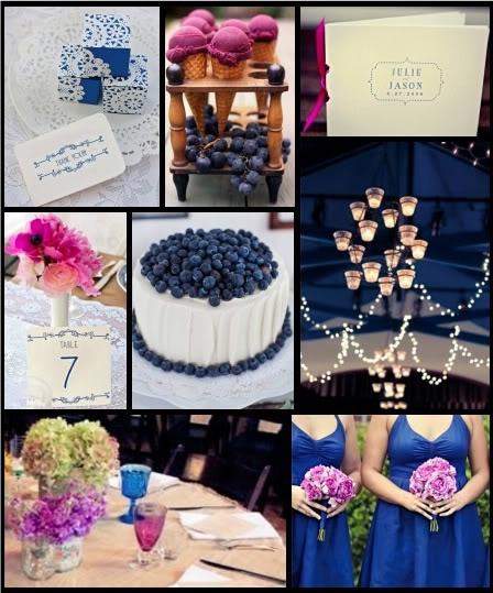 Свадьба в цвете омбре