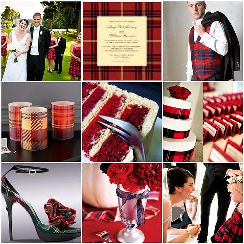 """Свадьба в стиле """"Шотландия"""""""