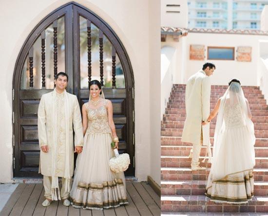 svadebnii-naryad-indiiskoi-nevesti-v-belom Свадьба в индийском стиле