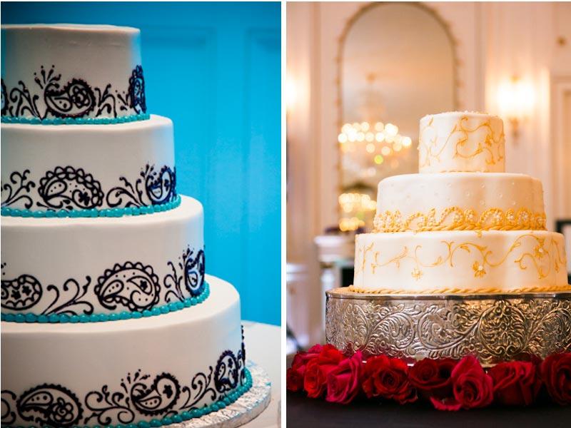 svadebnii-tort-v-indiiskom-stile Свадьба в индийском стиле