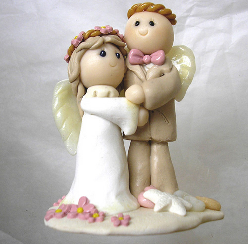 "svadebnye-figurki-angelochki Свадьба в стиле ""Ангелы"""