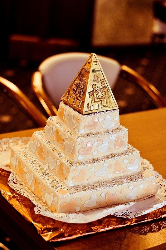 """svadebnyj-tort-egipet Свадьба стиле """"Египет"""""""