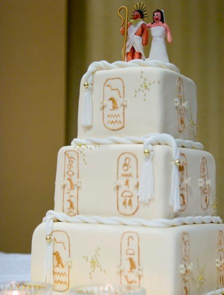 """tort-egipet Свадьба стиле """"Египет"""""""