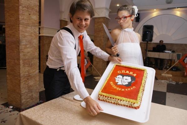 tort-sssr Свадьба в стиле СССР
