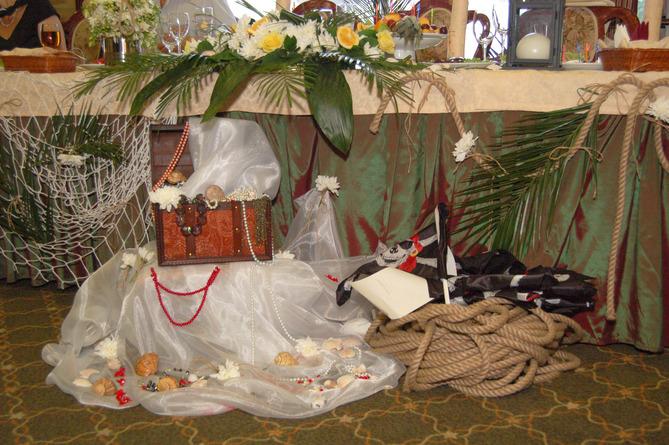 ukrashenie-zala-piraty Выкупаем невесту в морском-пиратском стиле(сценарий)