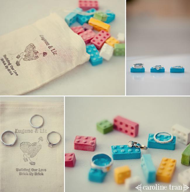 ukrasheniya-kolets-dlya-svadby-v-stile-lego Свадьба в стиле LEGO