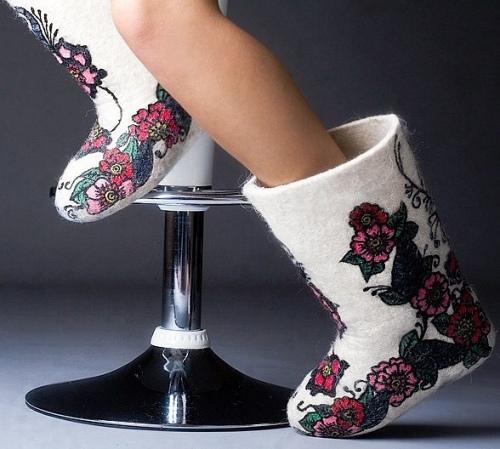 valenki-3 Свадебные валенки - обувь для зимней свадьбы