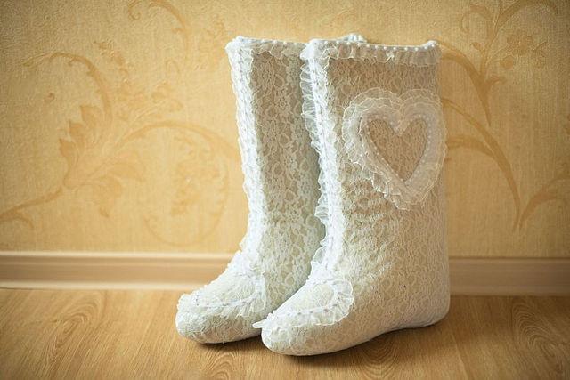 valenki-4 Свадебные валенки - обувь для зимней свадьбы