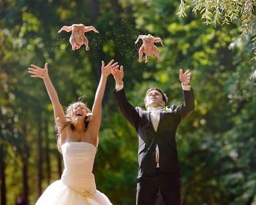 7 идей для весёлой свадьбы