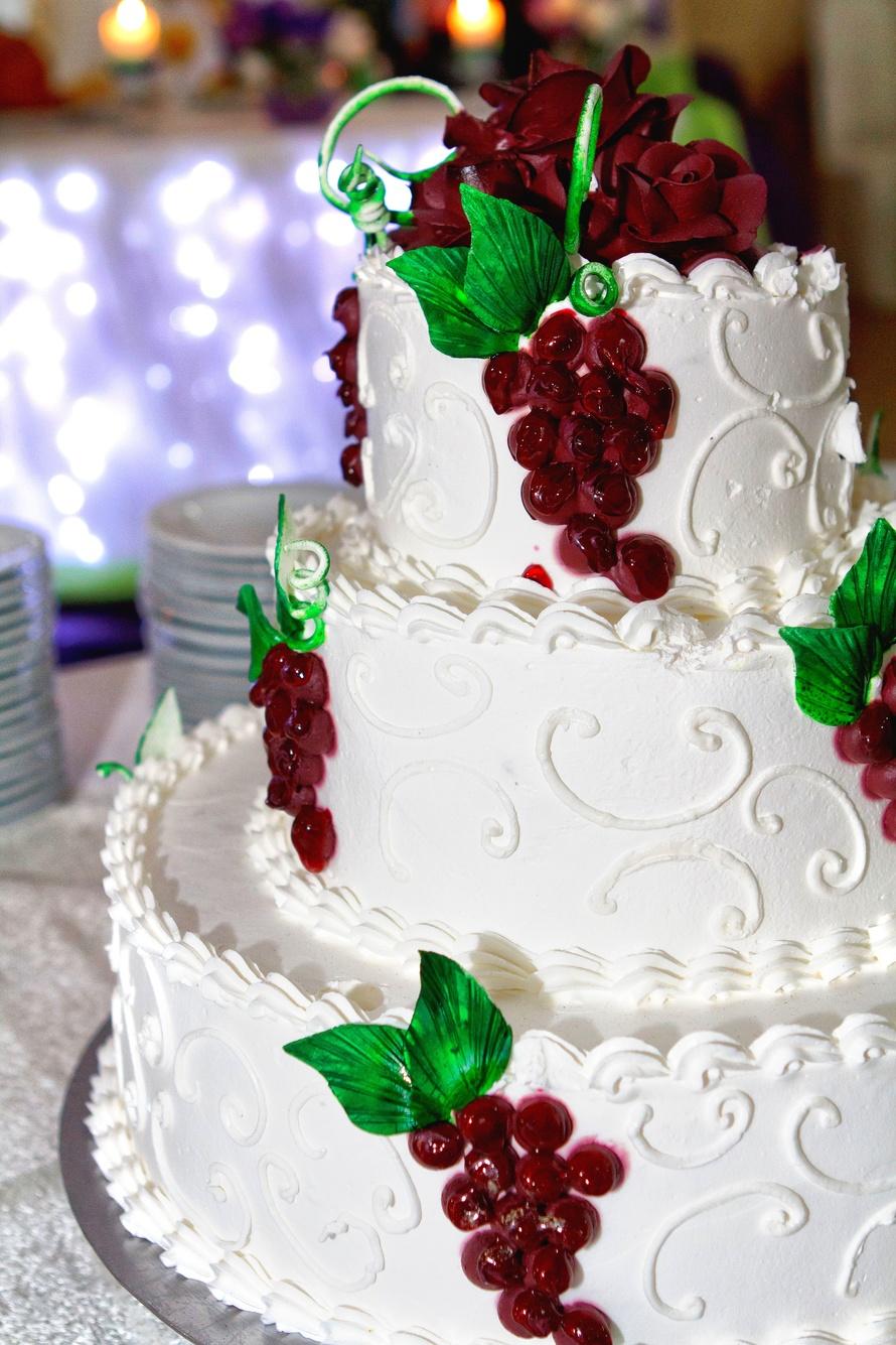 "vinnyj-svadebnyj-tort Свадьба в стиле ""Вино"""
