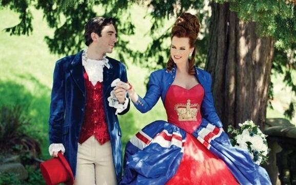 """Свадьба в стиле """"Англия"""""""