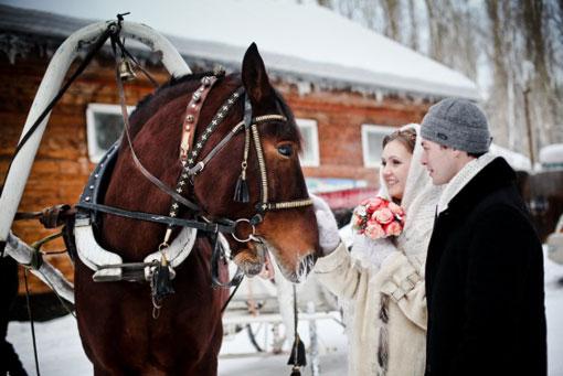 zima-svadba_4 Зимняя свадьба - продолжение волшебства