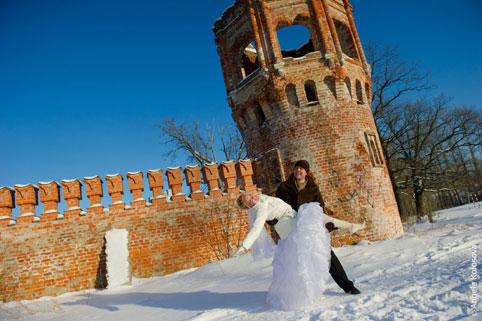 zima-svadba_7 Зимняя свадьба - продолжение волшебства