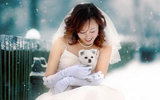 zima-svadba_8 Зимняя свадьба - продолжение волшебства